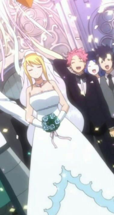 Natsu and Lucy -Wedding Day by MelikeCan on DeviantArt