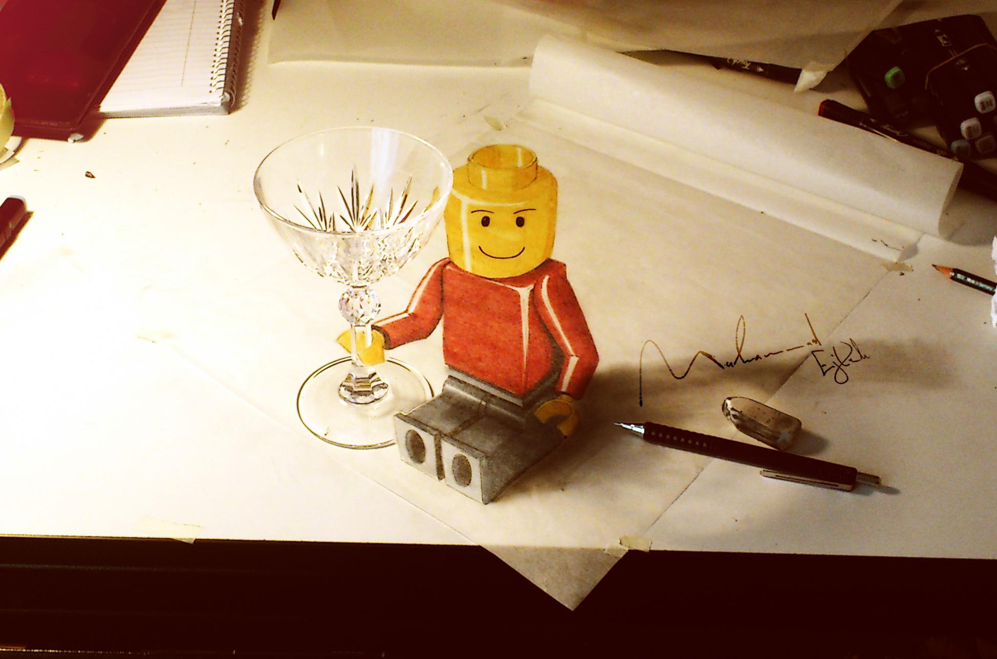 LEGO man by Muhammad-Ejleh