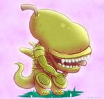 Pear Alien