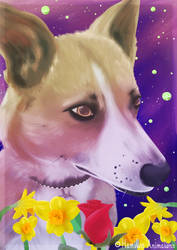 Spirit Guide Charlie pup by Hamilton-Animations