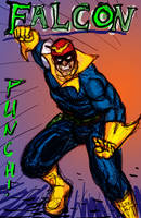 Captain Falcon Punch by Eastfist