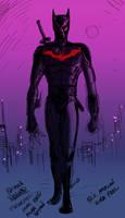 Batman Beyond concept by Eastfist