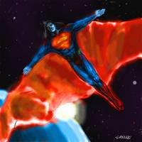 Superman 2012 fan art concept by Eastfist