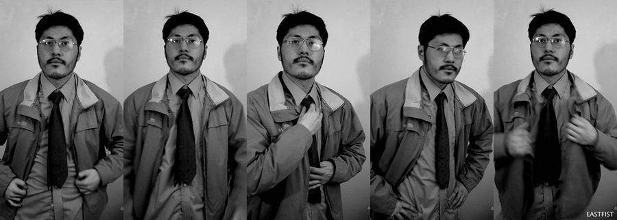 Charlie Chen - Master Detective self-portrait by Eastfist