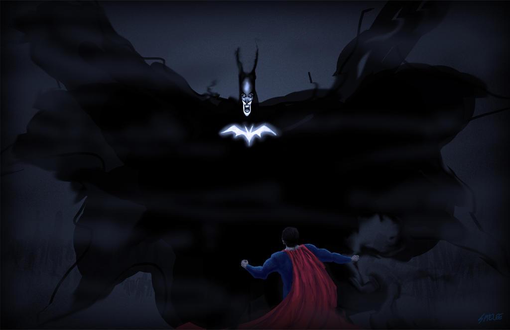 Batman Vs Superman Concept by Eastfist