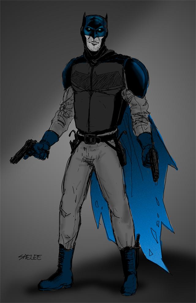Batman vs. Superman Ben Affleck Suit by Eastfist