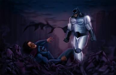 OFFICIAL BATMAN VS SUPERMAN CONCEPT ARK LEAK!!! by Eastfist