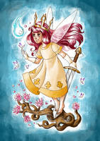 Aurora, the Child of Light by livroeternia