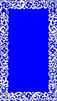 Designed 1bit Frame For Atari Fx Demo