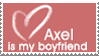 Axel Boyfriend Stamp by Flamongirl13