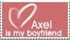 Axel Boyfriend Stamp by Flamongirl13
