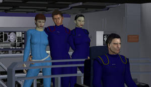 NX-01 Bridge scene