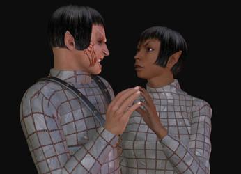 Romulan Romance by jaguarry3
