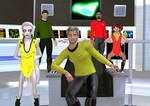 Bridge  Crew USS T'Pol