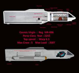 Perez Class  Cosmic Virgin by jaguarry3