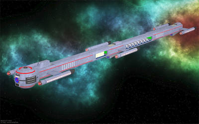 Space Train by jaguarry3