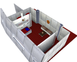 Officers Quarters ISS Immortal by jaguarry3