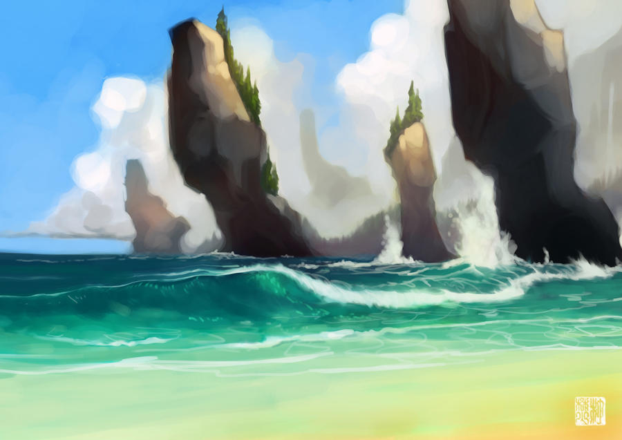 On A Tropical Island...