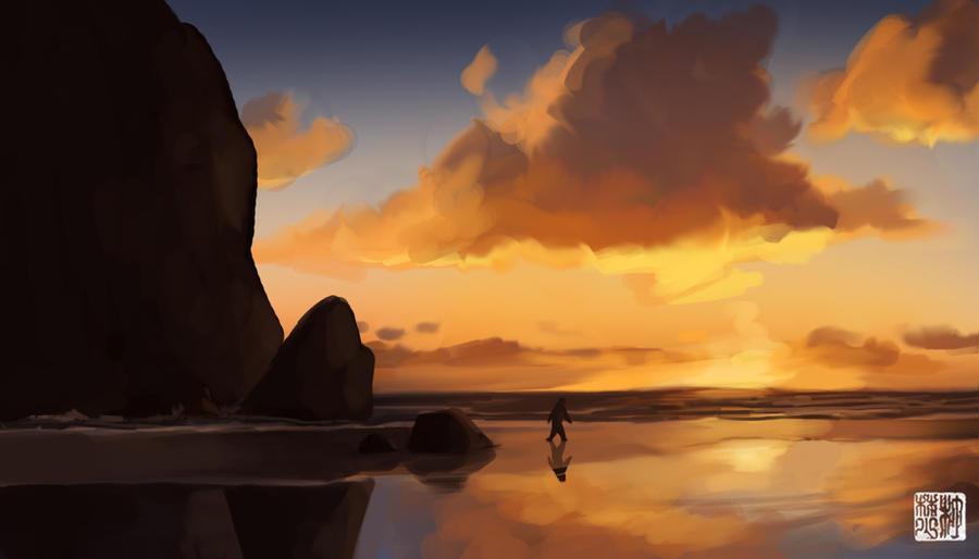 Sasquatch Sunset by tohdaryl