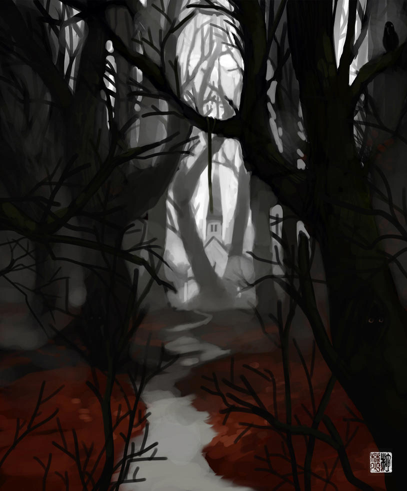 The Marked Path - revisit by tohdraws