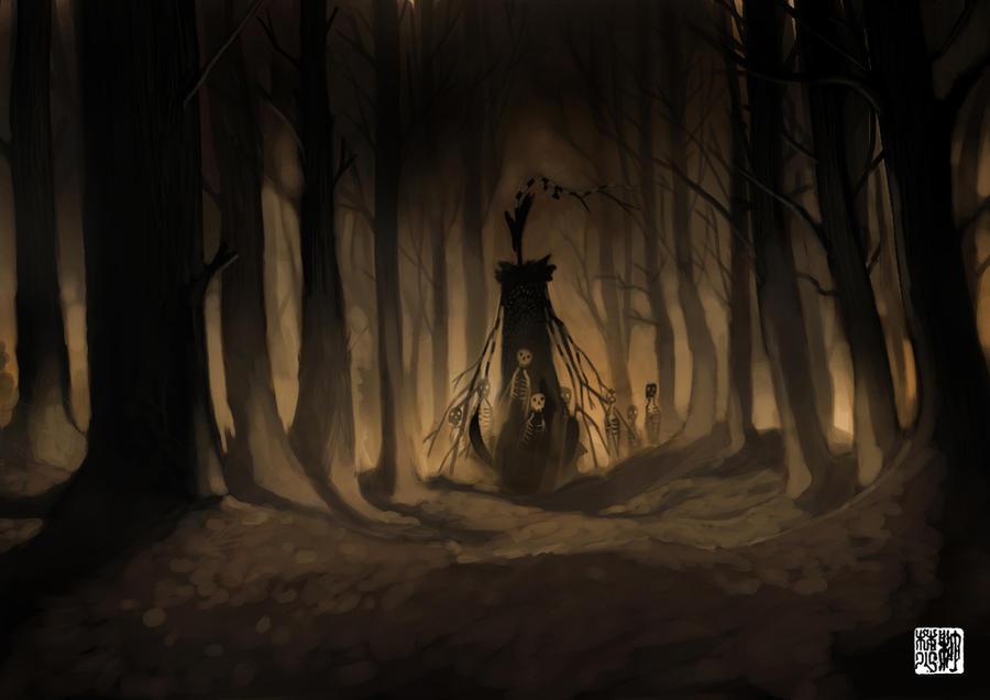 Danse Macabre II by tohdraws