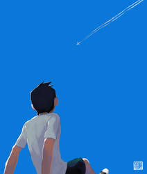 A Cloudless Afternoon by tohdraws