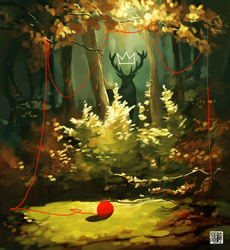 The Forest King by tohdaryl