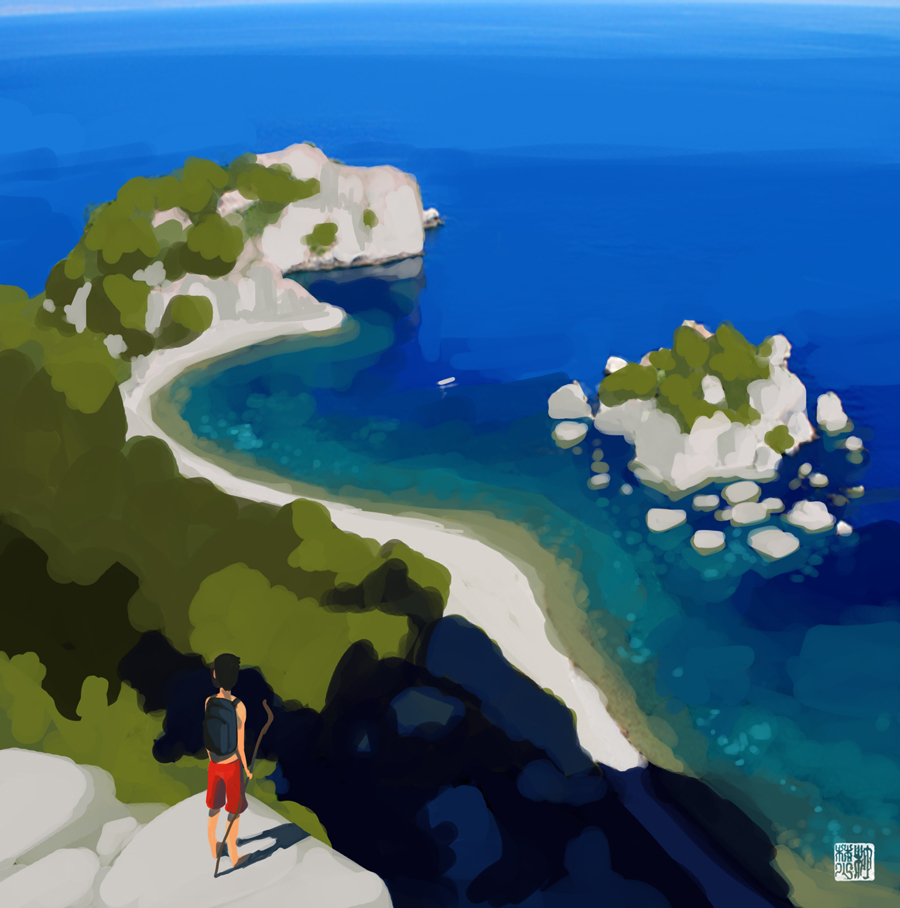 The Coastal Journey by tohdaryl