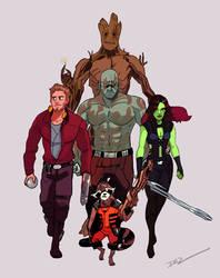Guardians Unite! by tohdraws