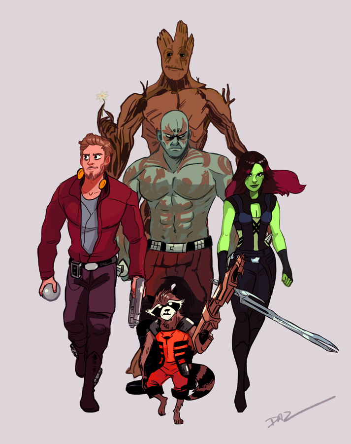 Guardians Unite! by tohdaryl