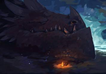 Sleeping dragon...shhhh
