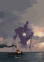 Colossus Rises by tohdraws