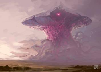Emrakul - Aeons Torn by tohdraws