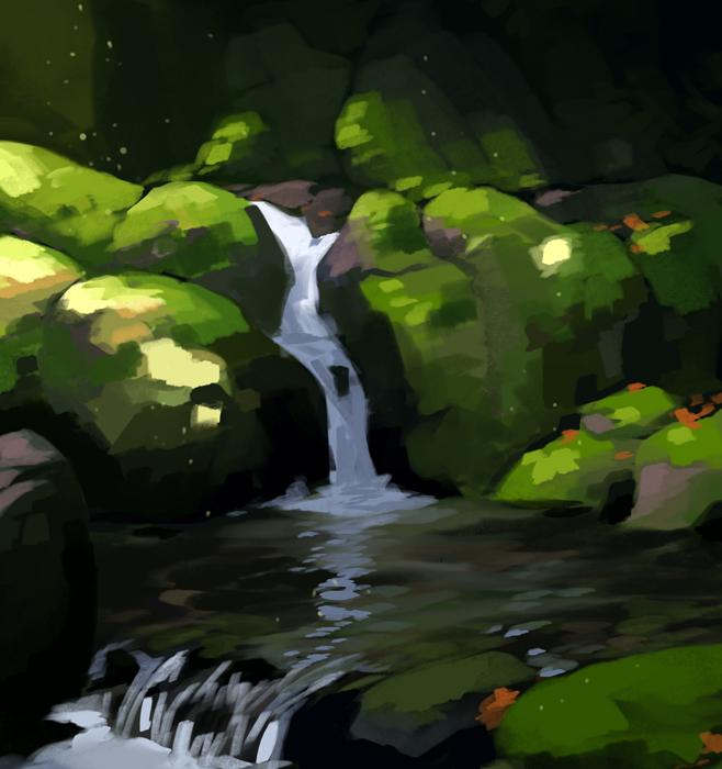 Stream by tohdraws