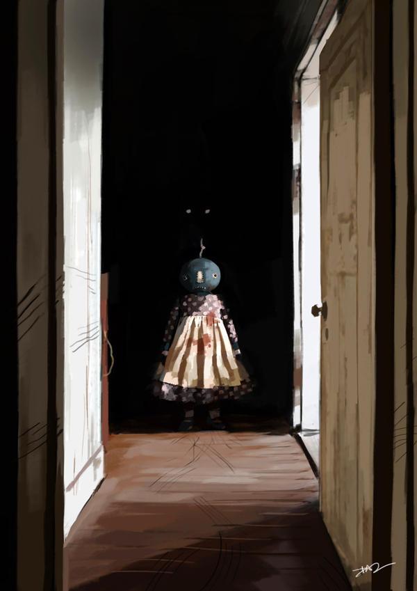 The Hallway by tohdraws