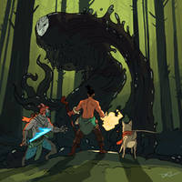 30 Boss Battle In The Forest by tohdraws