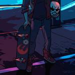Midnight Rebel by tohdraws
