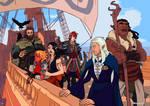 Set Sail by tohdraws