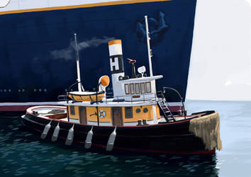Tugboat Hercules