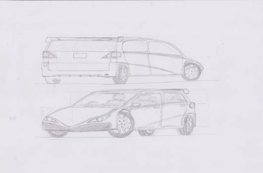 Badly Drawn Car Sketch