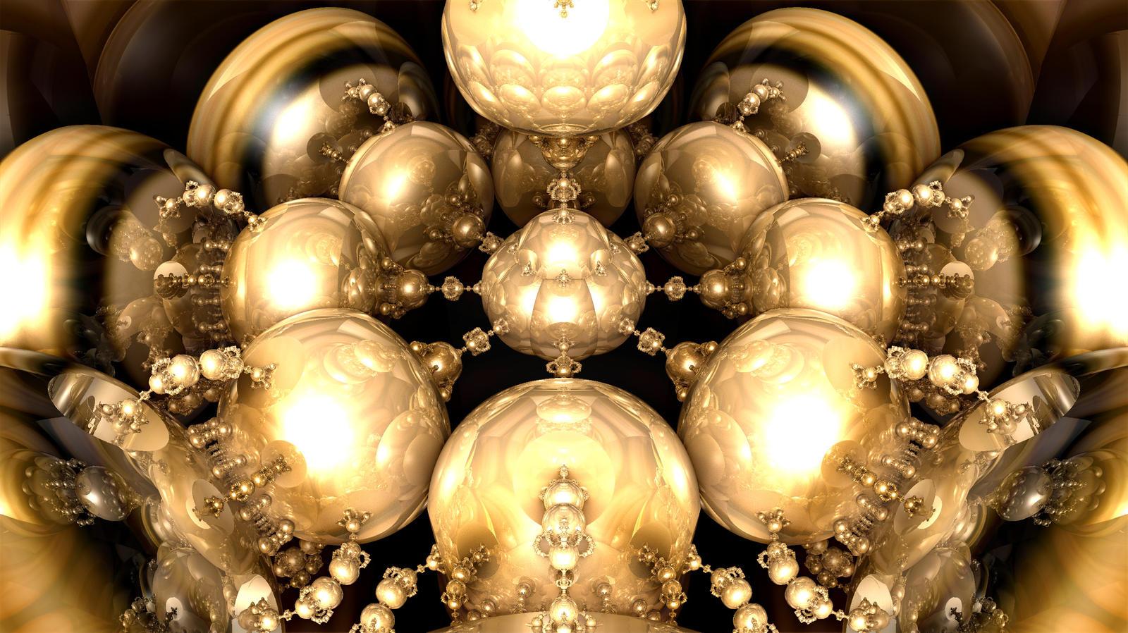 Reflected Globular Cluster