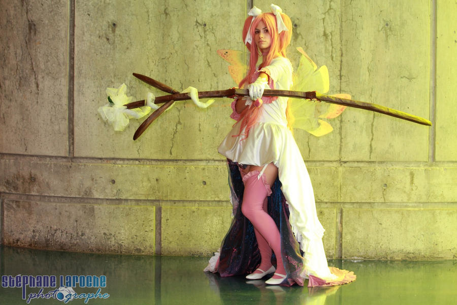 I won't give up  - Goddess Madoka by jujub