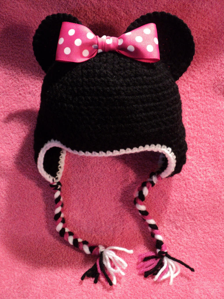 minnie mouse hat by Brookette