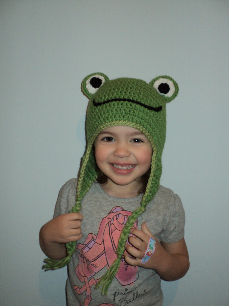 frog hat by Brookette