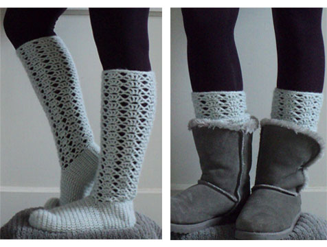 lace socks by Brookette