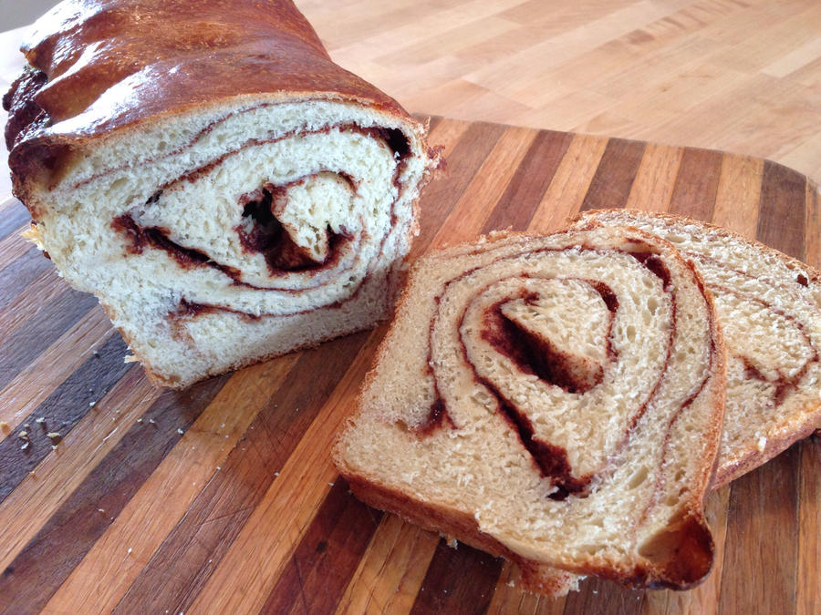 Cinnamon Swirl Bread by Brookette