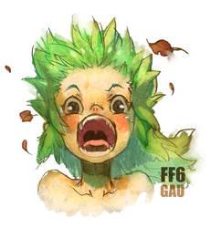FF6 - GAU by prema-ja