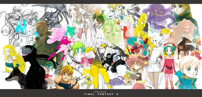 FF6 - Sketchs