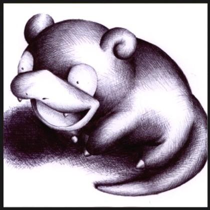 079 - Slowpoke by Petah55