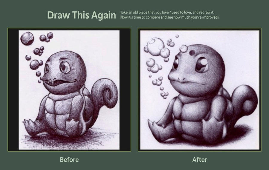 Draw this Again Challenge entry by Petah55